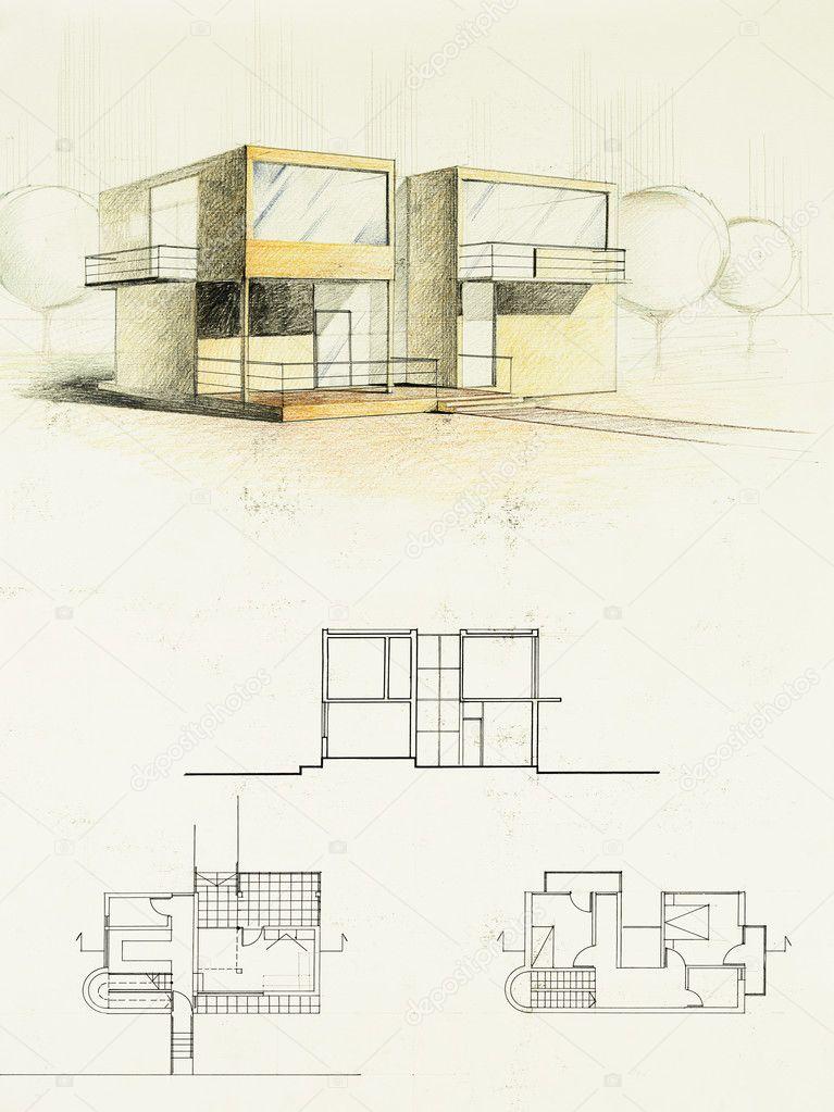 Imagenes Dibujo Arquitectonico A Color Color Dibujo