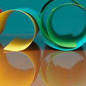 struktura abstraktní barevný papír na šedém pozadí