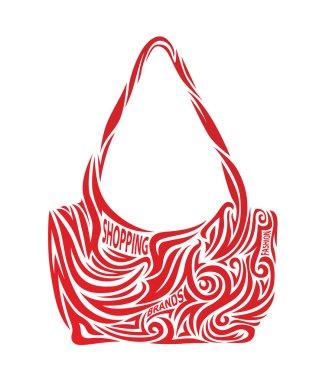 Stylized fashion handbags