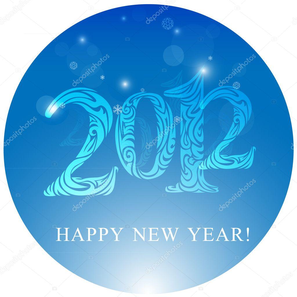 2012 New Year design