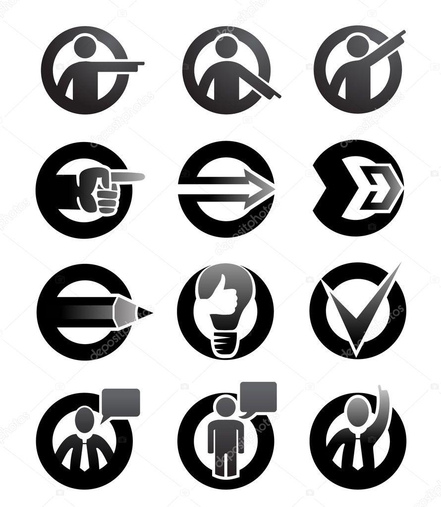Arrow and tips symbols
