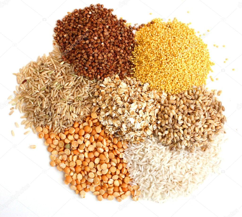 Diversi tipi di grano foto stock khudoliy 8881419 - Diversi tipi di trecce ...