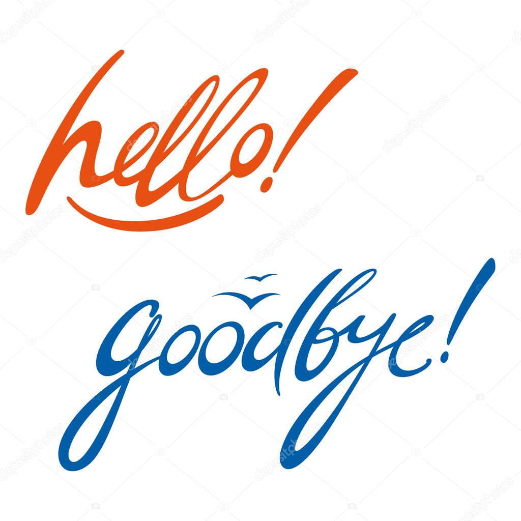 Hello Goodbye message signatur...