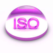 3D Style file format icon - ISO