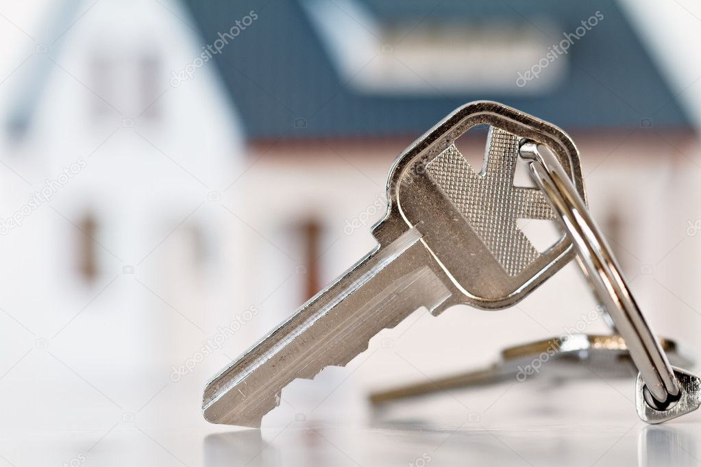 Key and house