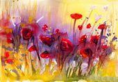 Mohn, Blumen,