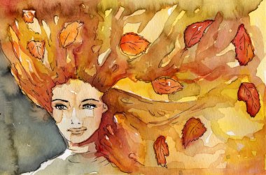 . autumn portrait