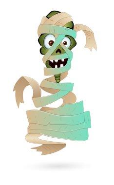 Illustration of Scary Mummy