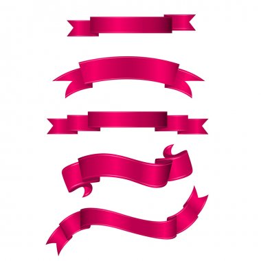 Pink Ribbon Banners