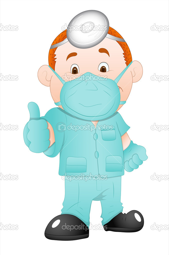 Cartoon Surgeon Doctor Stock Vector 169 Baavli 9787958