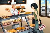 Fényképek Vásárlás sütemény pékség bolt