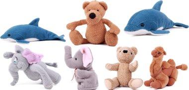 Cute fluffy toys