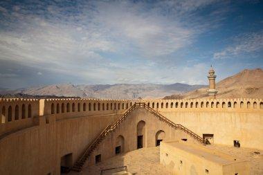 Stunning view of the Nizwa fort (Ad Dakhiliyah, Oman)