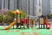 barevné dětské hřiště