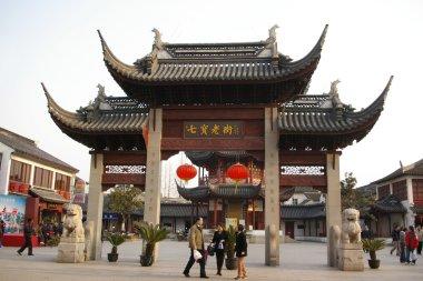 Qibao water town in Shanghai, China.
