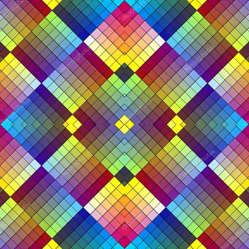 Art Deco Mosaic Tile In Retro Style Stock Photo Sangoiri - Art deco mosaic tile patterns