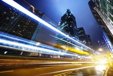 """Картина, постер, плакат, фотообои """"Торговля людьми в Гонконге ночью"""", артикул 10201820"""