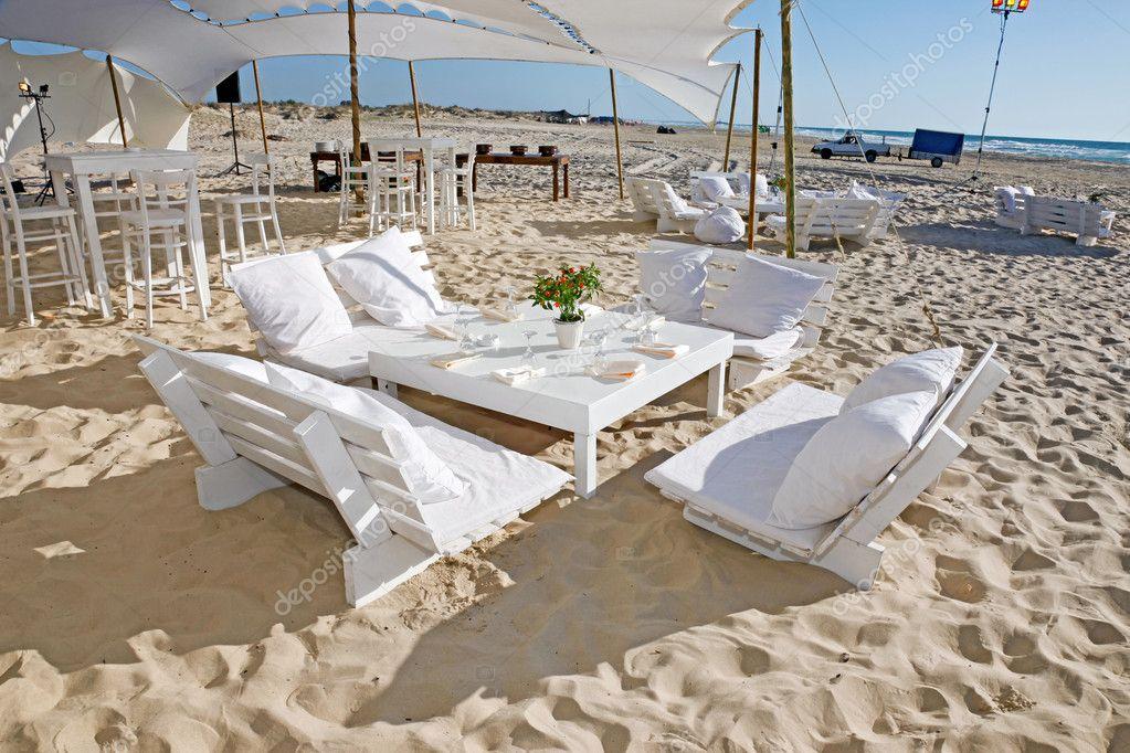 Wedding Reception On The Beach Stock Photo Katerinalin 10599755