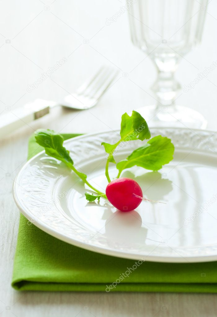 Dieta del plato pequeno