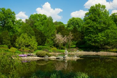 Japanese garden, Wroclaw, Poland