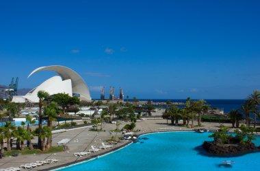 Cityscape of Santa Cruz de Tenerife