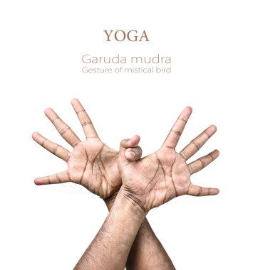 Yoga Garuda mudra
