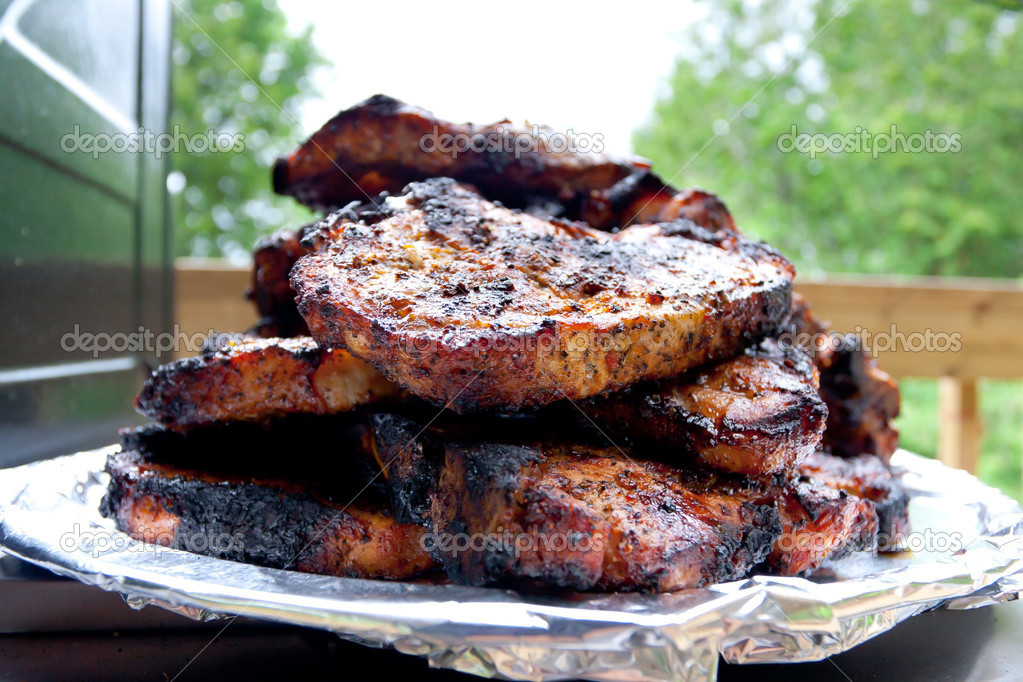 Pork steaks