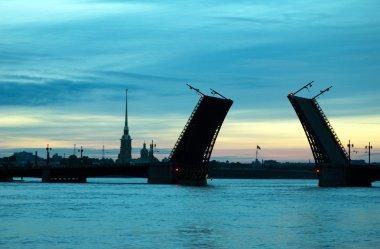White nights of St.Petersburg, Russia.