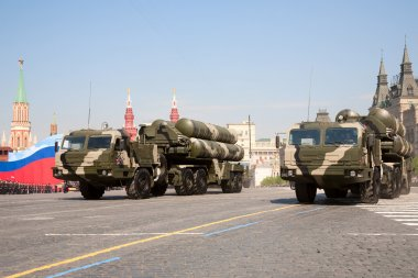 Anti-aircraft missile system S-400