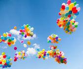 Fotografia palloncini colorati