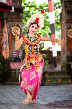 Barong Dancer. Bali, Indonesia
