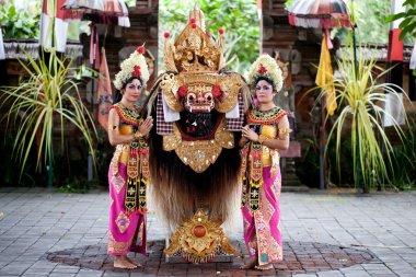 Barong dancers Bali Indonesia