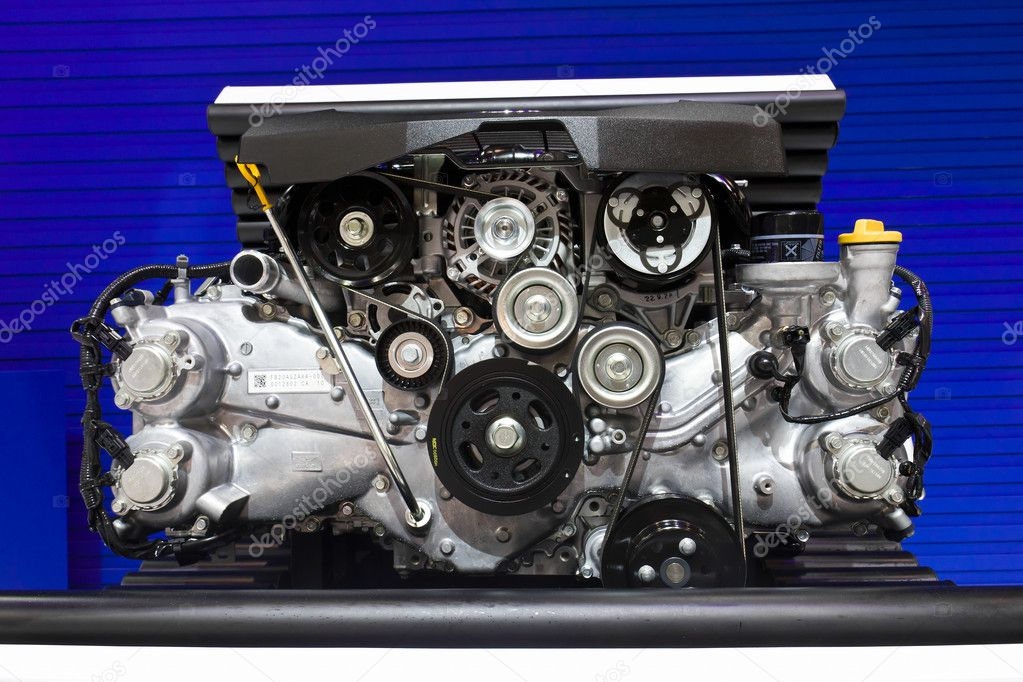 Subaru Boxer Engine 2.0 Litre on Display