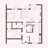 Vektorové kreslení domu