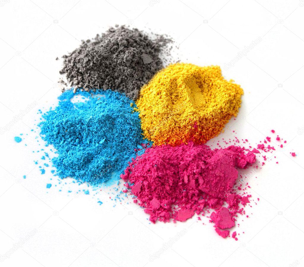 Color powder cmyk