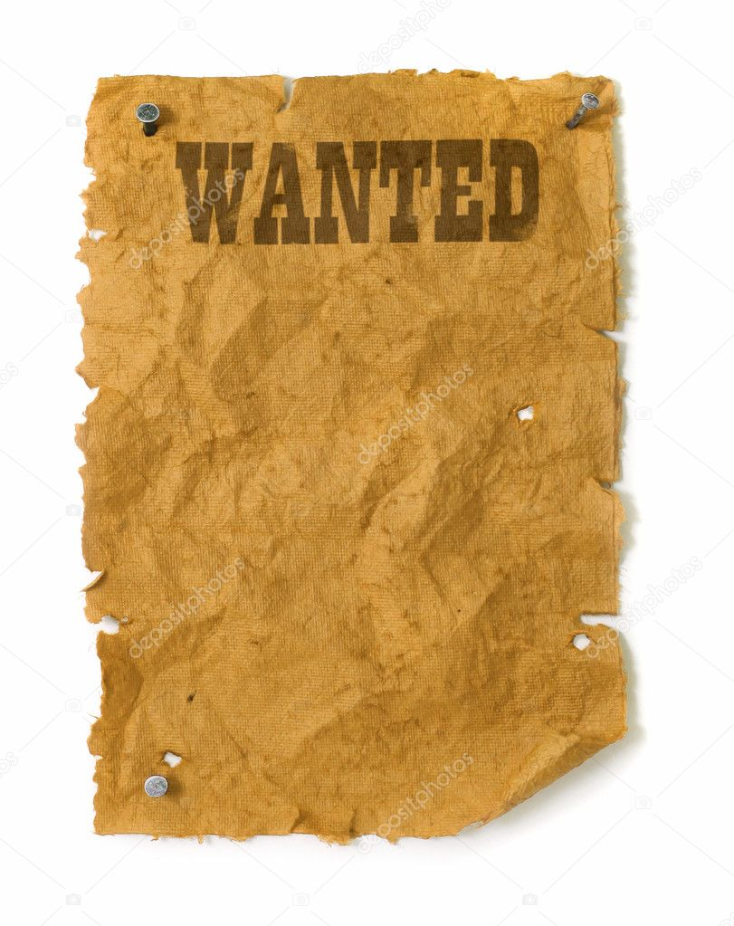 Wanted poster Stock Photos Royalty Free Wanted poster Images