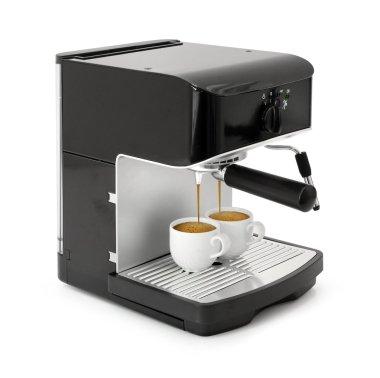 Espresso coffee brewing