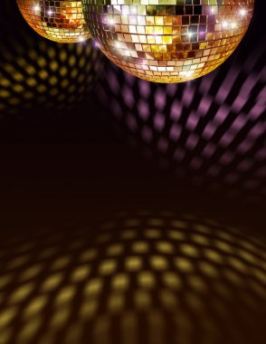 "Картина, постер, плакат, фотообои ""золотой зеркальный шар зеркало раме зеркала настенное круглые декоративное"", артикул 9354743"
