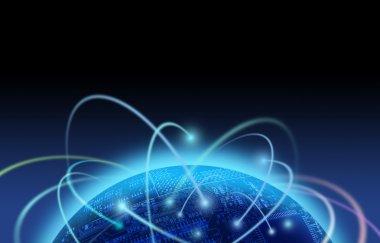 Internet traffic over binary world