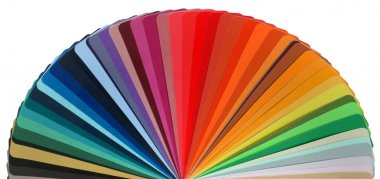 Color guide rainbow