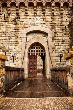 Drawbridge to Castle Door