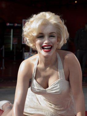 Wax figure of Marilyn Monroe