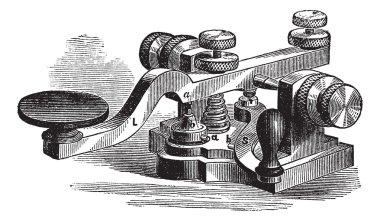 Fig. 8. Morse manipulator, vintage engraving.