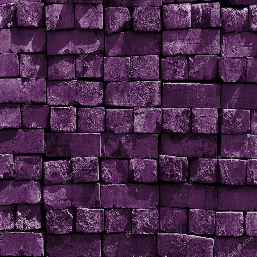 purple bricks wall stock photo dside 9881889