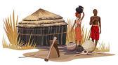Photo African Village