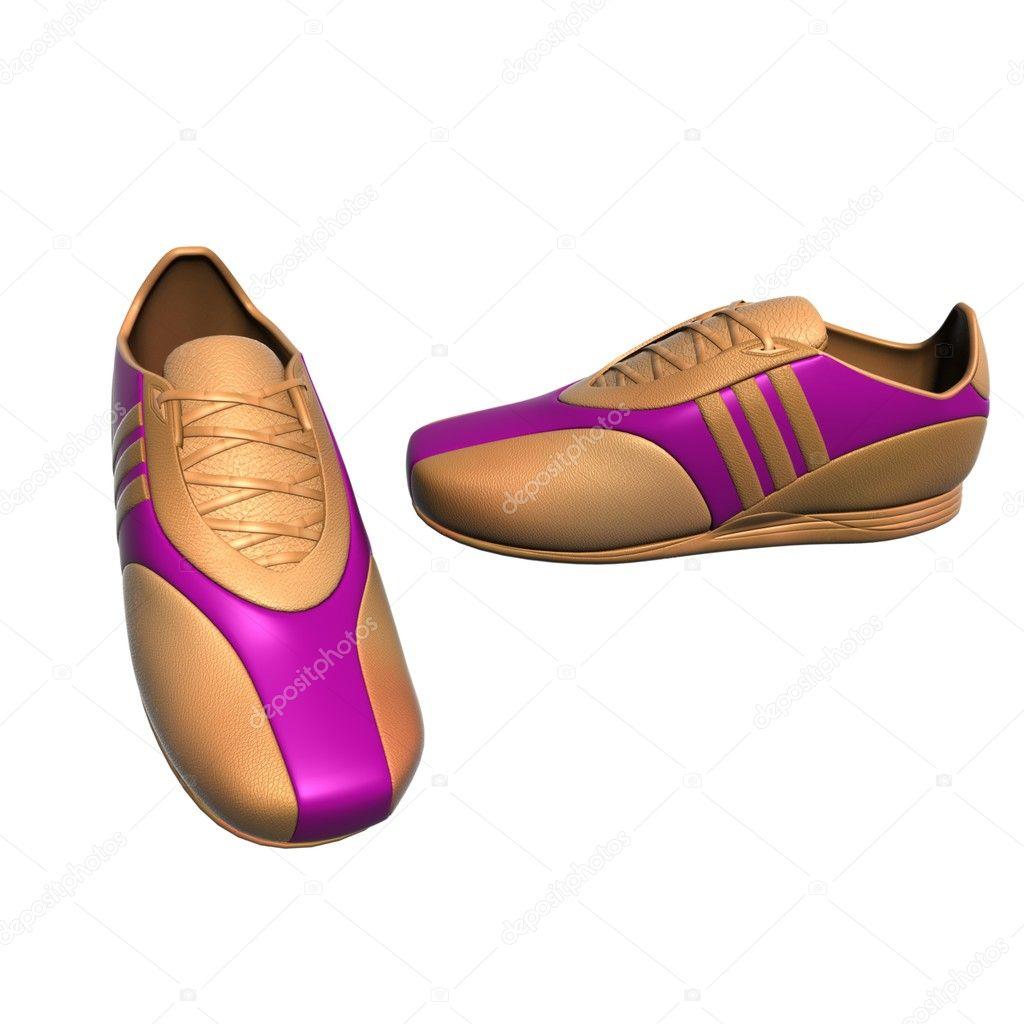 77ea5a9b737 αθλητικά παπούτσια σε διάφορα χρώματα και τις γωνίες — Φωτογραφία ...