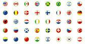set di bandiere del mondo