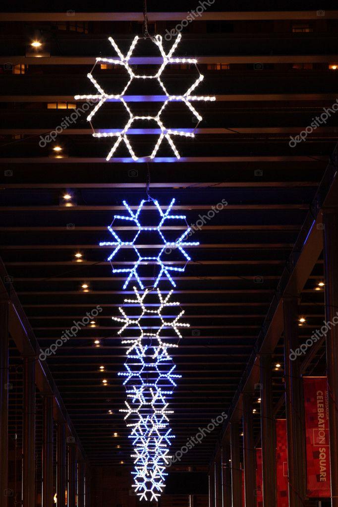 Led Oświetlenie Dekoracyjne śniegu Podczas świąt Bożego
