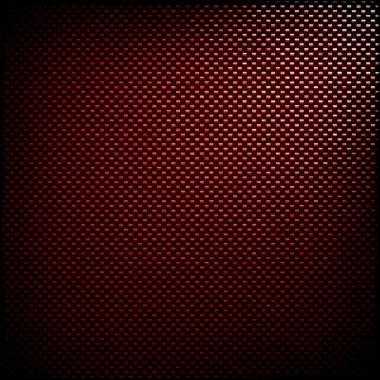 Red carbon fiber background