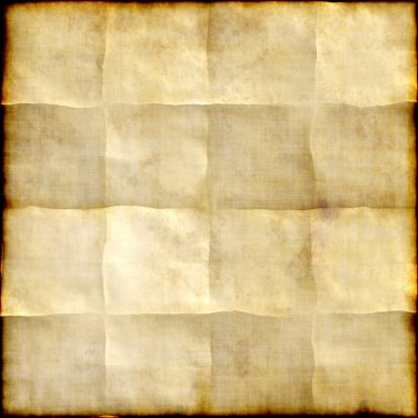 Old paper background with traces of folds